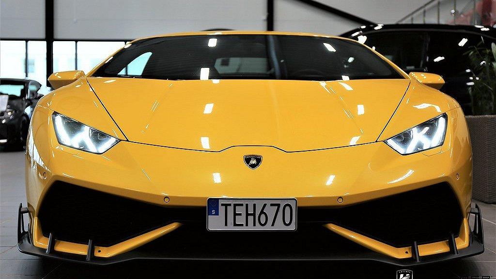 Lamborghini Huracán framifrån