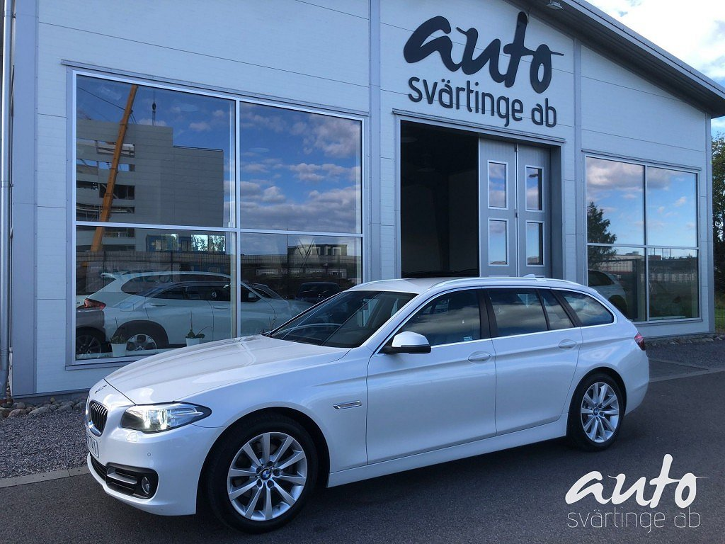 BMW 520 d Touring Aut 190Hk Drag