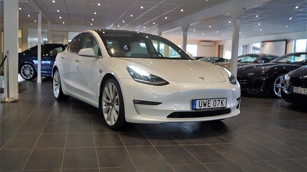 Tesla Model 3 Performance 460hk