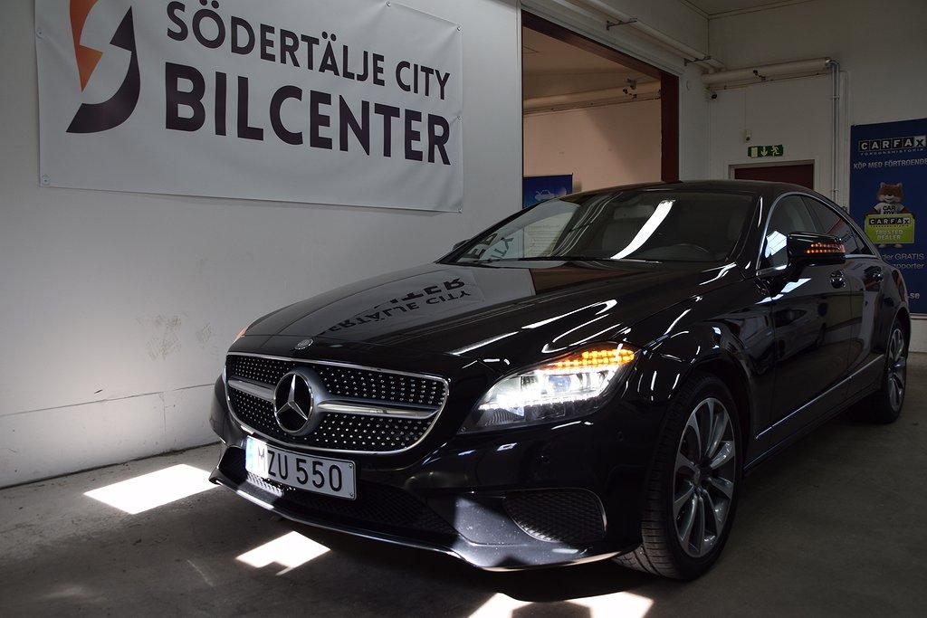 Mercedes-Benz CLS 220 d 9G-Tronic AMG-PAKET Euro 6 170HK/Svensksåld