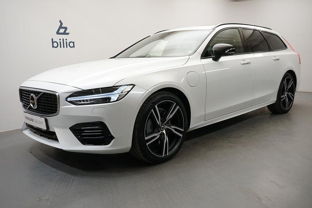 Volvo V90 T8 TE R-Design. Dragkrok. Taklucka. on Call. Navigation. Miljökl