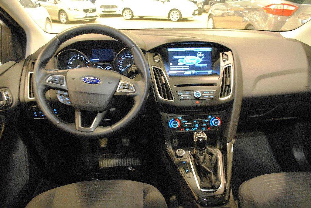 Ford Focus 1.0T EcoBoost 100hk Titanium 5d