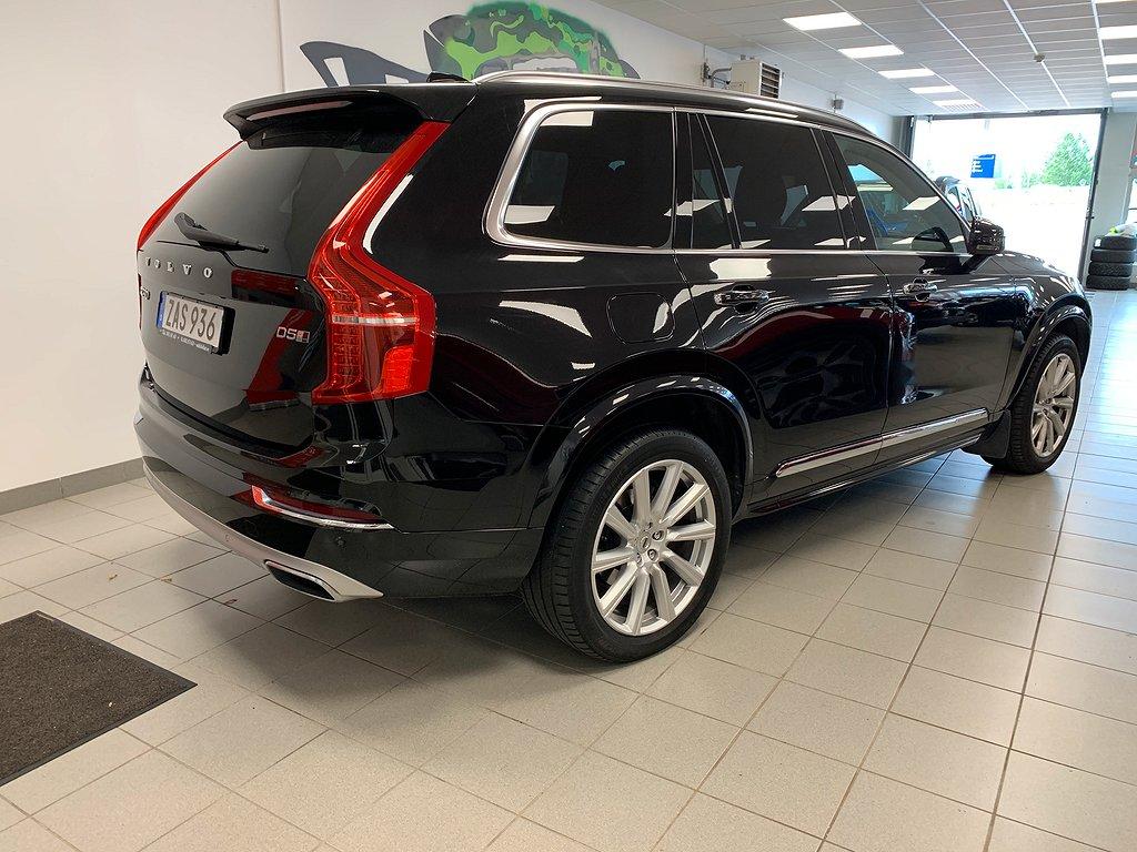 Volvo XC90 D5 AWD  Inscription Euro 6 7-sits 235hk