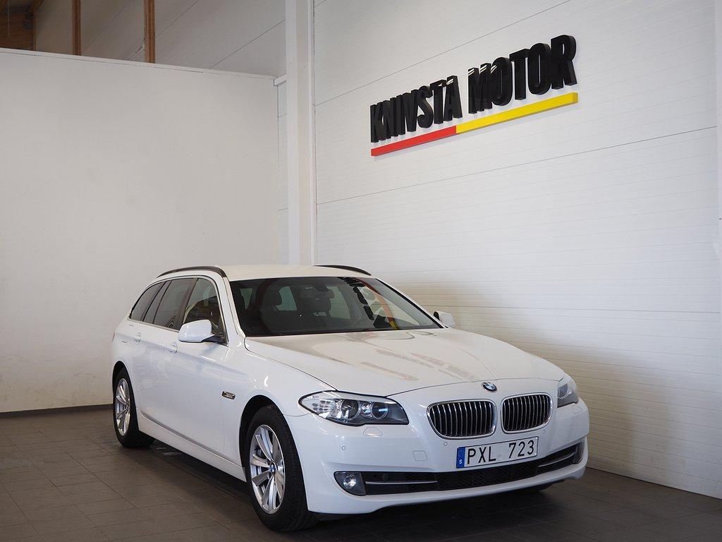 BMW 520 d Touring 184hk (M-värmare, Drag) 2013