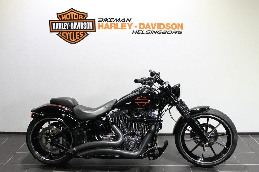 Harley-Davidson FXSB 1 ÅRS GAR FRI FRAKT
