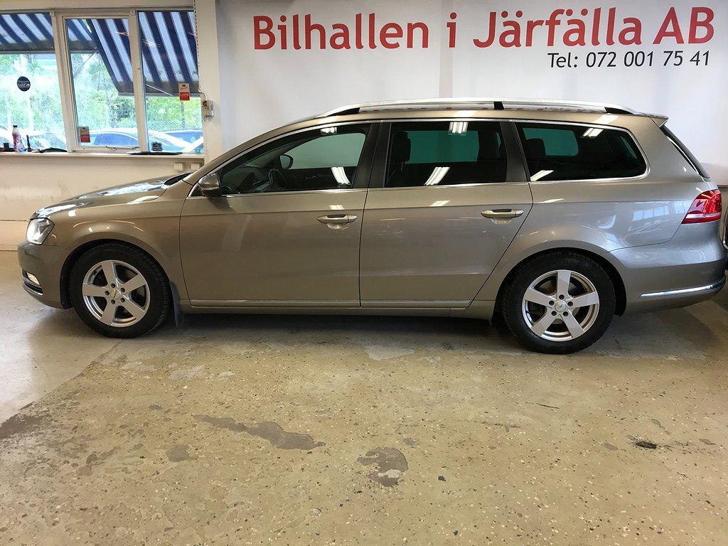 Volkswagen Passat 2.0TDI ,låg mil,bes,ny servad,4 ägare,170hk