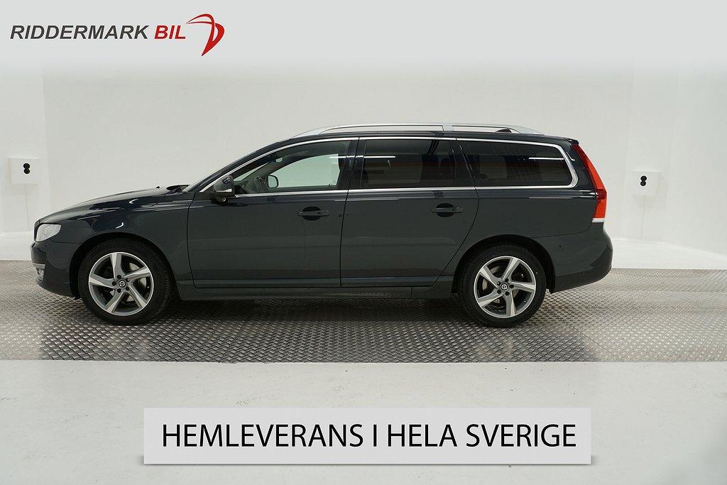 Volvo V70 D4 Summum Eu6 181hk Voc D-Värm Blis Drag Keyless