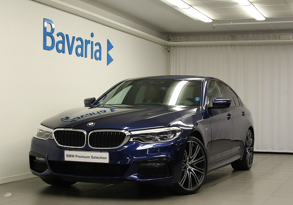 "BMW 520 d xDrive Sedan Innovation ed 20"" LM fälgar Drag"