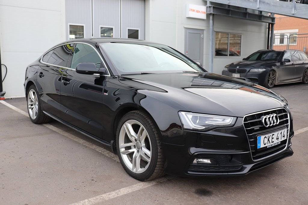 Audi A5 SB 2.0 TDI SPORTEDITON+ S-LINE EURO6 DRAGKROK