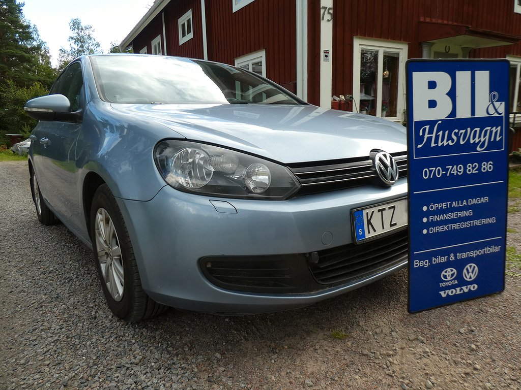 Volkswagen Golf 5D 1.6 TDI/AC kyler/Årssk 1.100:-/Påkost/FINANS/Inbyte/MV