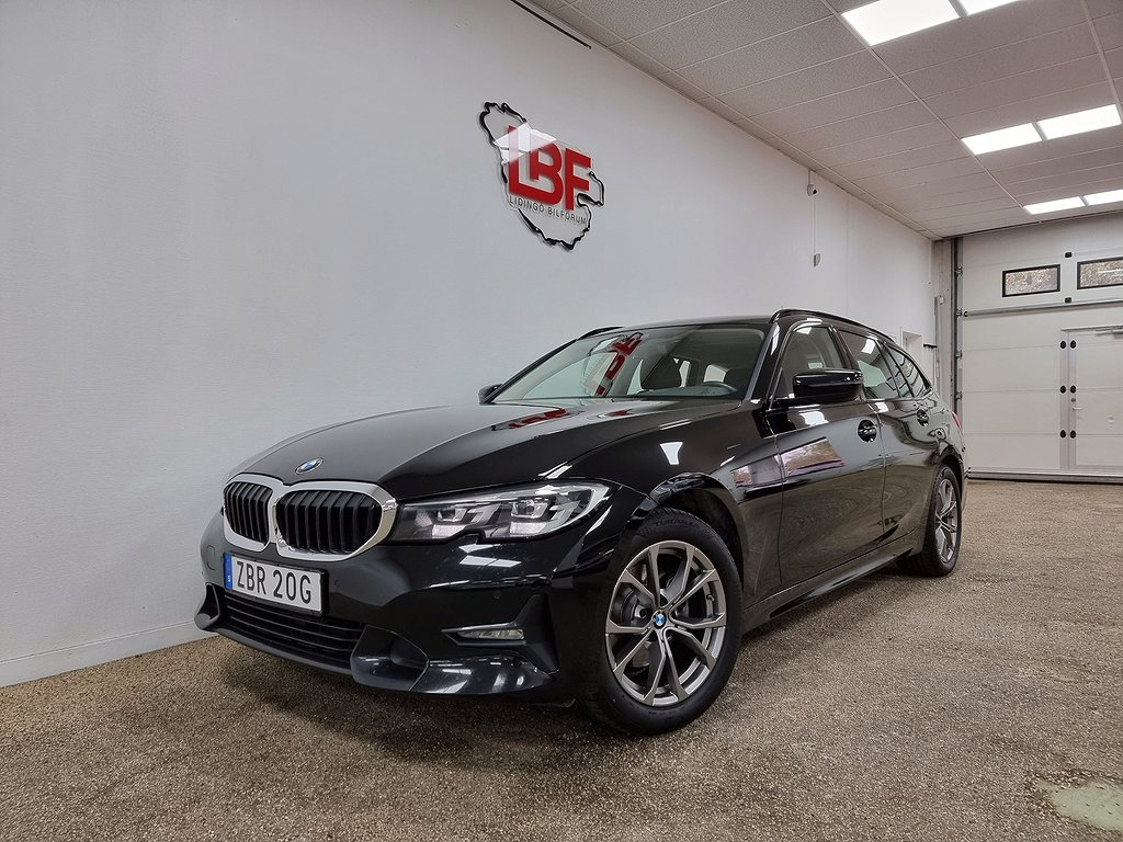 BMW 320 d xDrive Touring Steptronic Värmare Leasbar 6 190hk