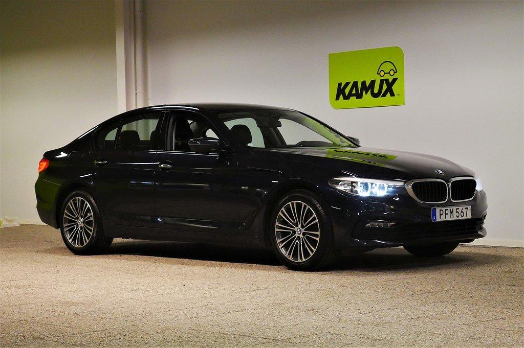 BMW 520 d xDrive SÖNDAGSÖPPET 28/7 Sportline M-Ratt Panelbelysning