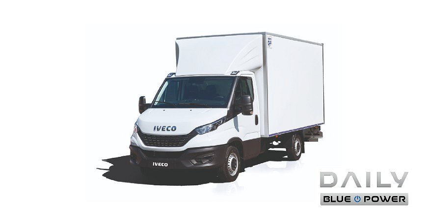 Iveco Daily Fast Lane Skåp & Lift 3,5T GAS