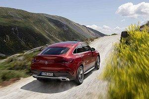 Världspremiär för Mercas nya suv-coupé