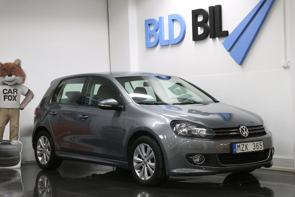 Volkswagen Golf 1.6TDI AUTO RÄNTA 1,99% AUX ISOFIX 105hk
