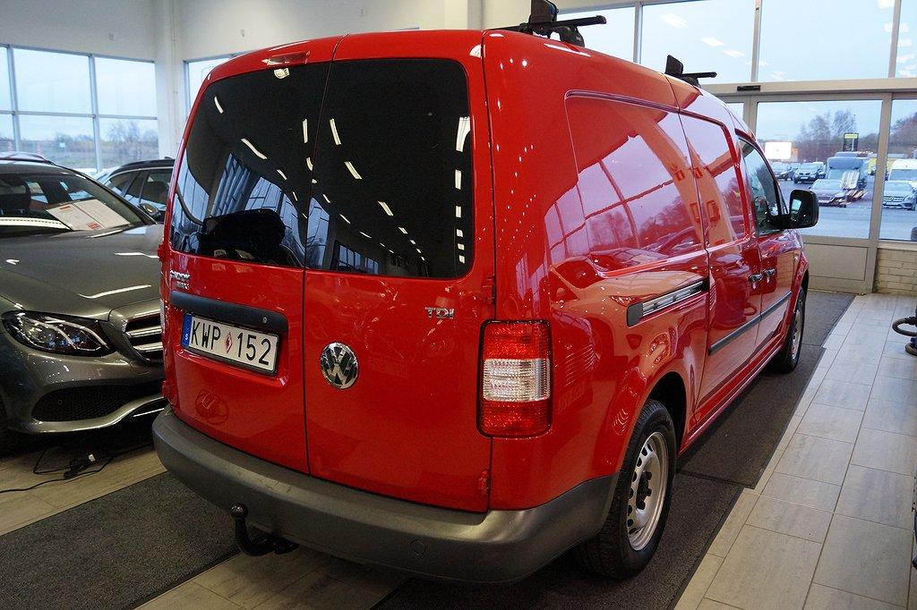 Volkswagen Caddy 1.9 TDI Maxi Skåp (105hk)