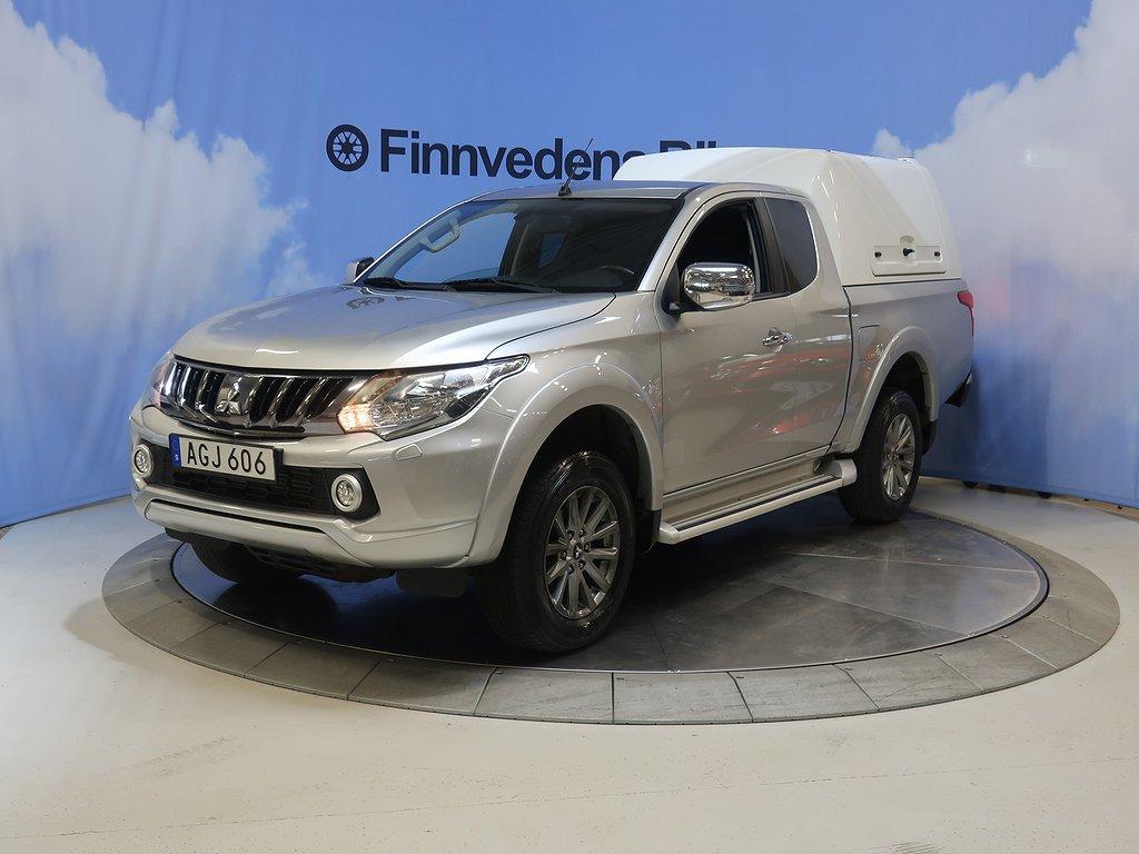 Mitsubishi L200 Club Cab 2.4 4WD. s&v-hjul/drag