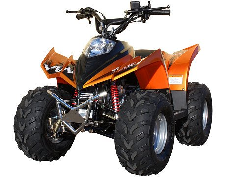 Viarelli ATV 90cc Orange-Metallic 7tum Hjul - -18