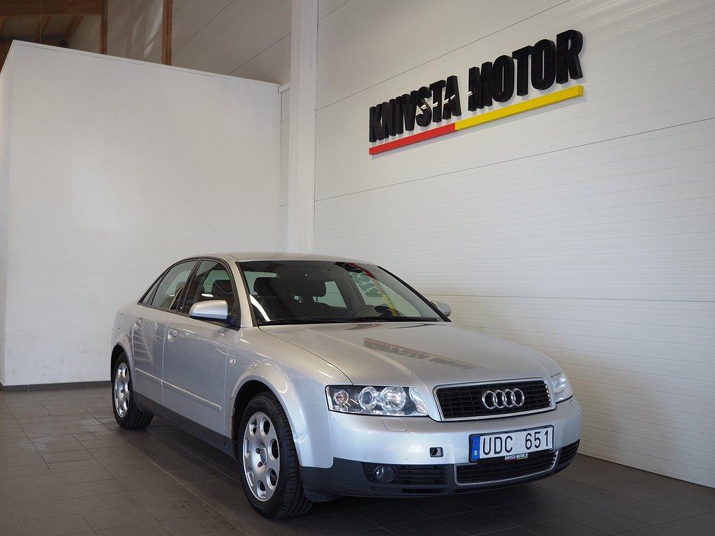 Audi A4 Sedan 3.0 V6 Automat 220hk (Drag) 2002