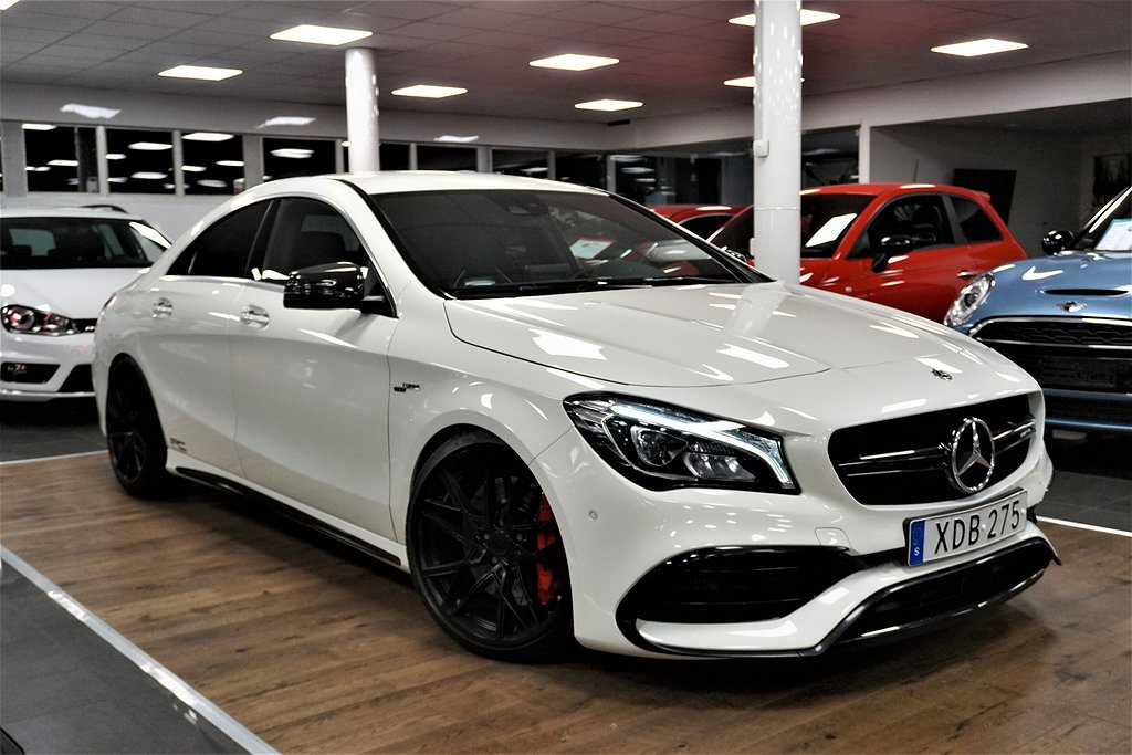 Mercedes-Benz AMG CLA 45 4MATIC Coupé AMG, Edition One 420hp