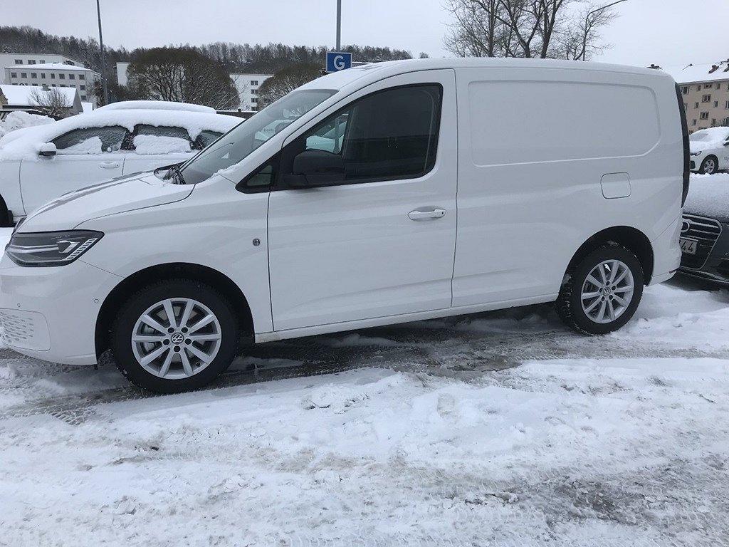 Volkswagen Caddy skåp Cargo TDI 122 Automat Se utrustning