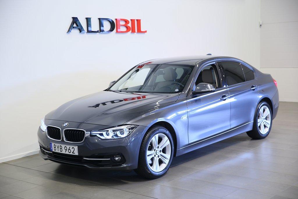 BMW 320 i 184hk EU6 Sport Line Aut (Nav, Läder)
