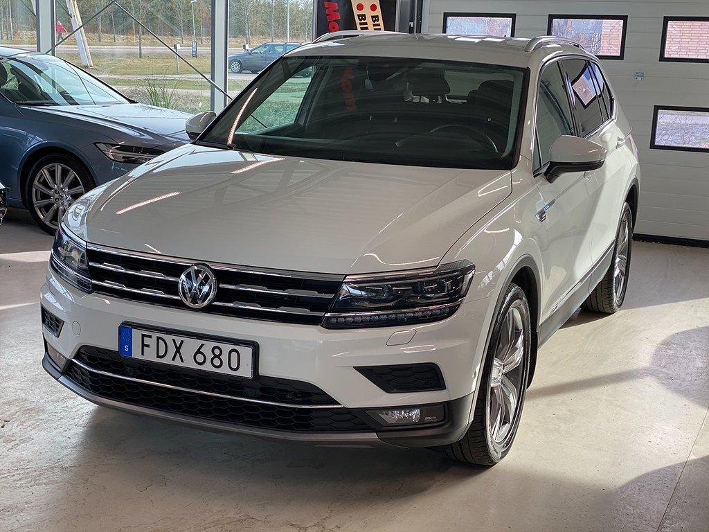 Volkswagen Tiguan Allspace 2.0 TDI SCR BlueMotion 4Motion AUt. Euro 6 7-sits 190hk