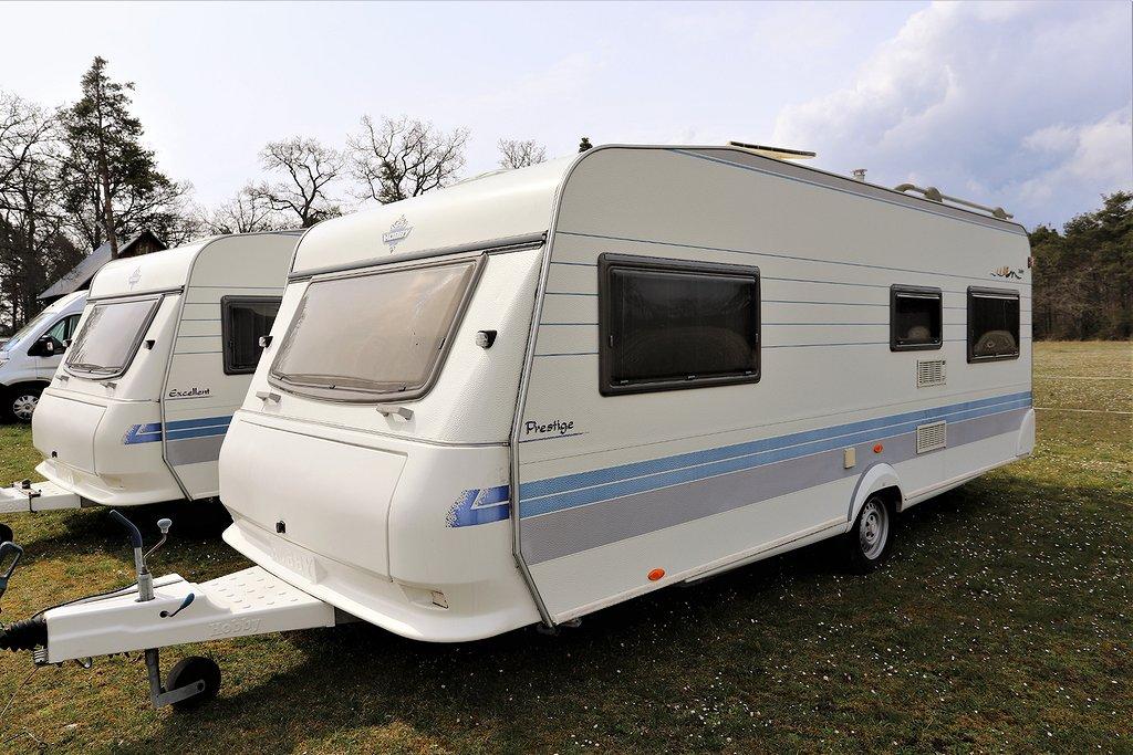 Hobby 560 UFe *Rymlig med tält mm