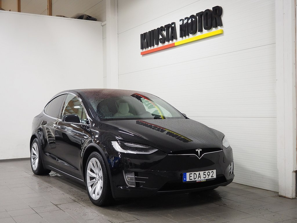 Tesla Model X 100D 423hk LEASEBAR 2017