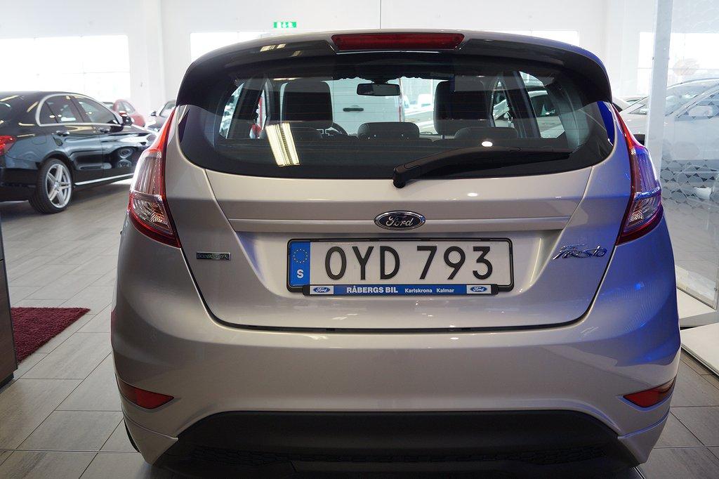 Ford Fiesta ST-Line 1.0T Ecoboost 100hk 5D/V-hjul/Skatt 360kr