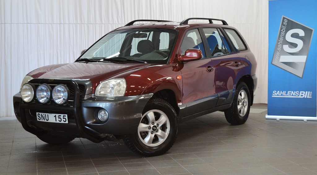 Hyundai Santa Fe Bensin 145hk 4WD Dragkrok
