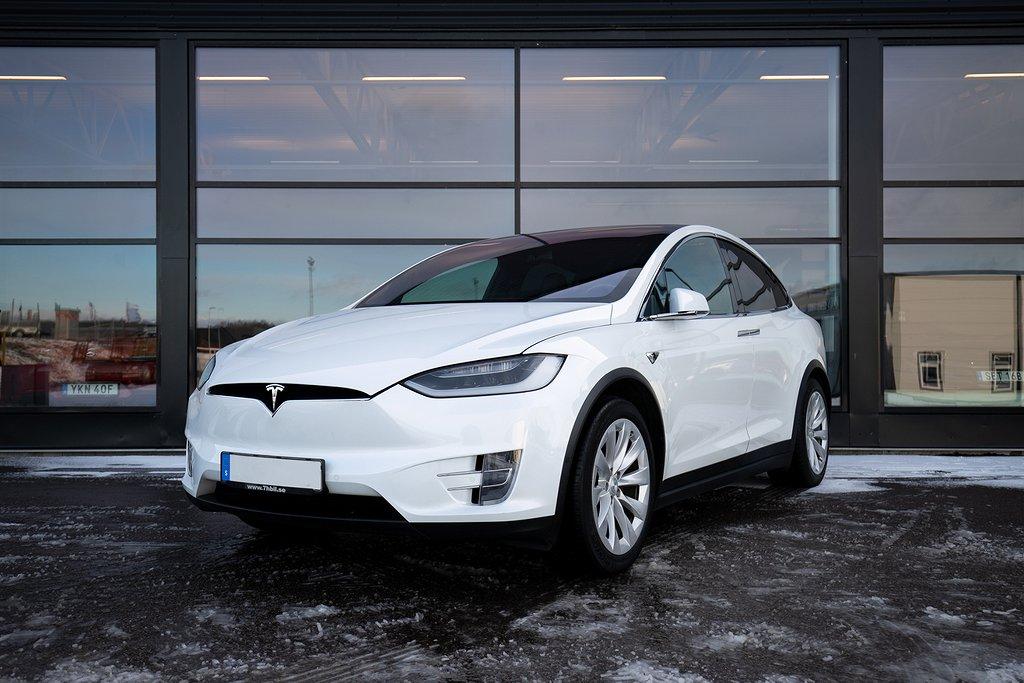Tesla Model X 75D / Uppgraderad Autopilot / End. 3795 Mil /