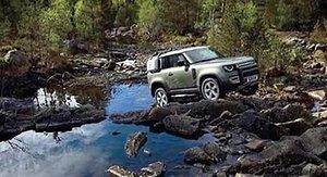 Bildläcka på nya Land Rover Defender