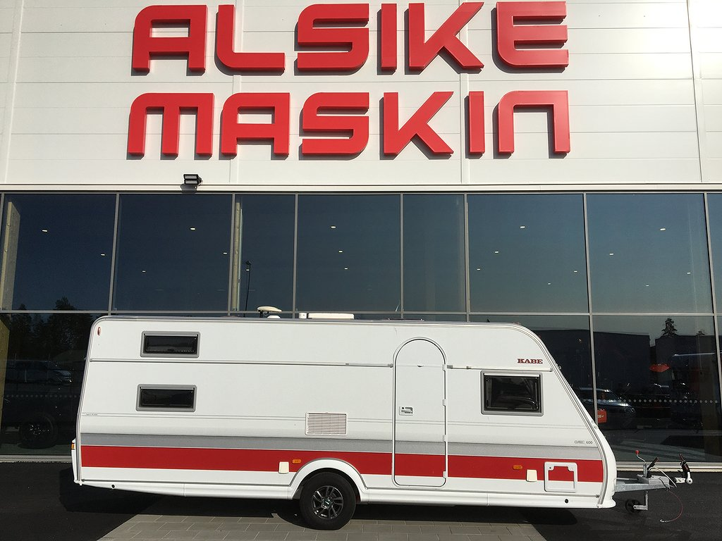 Kabe Classic 600 GLE KS B14 Fabriksny /Barnkammarvagn