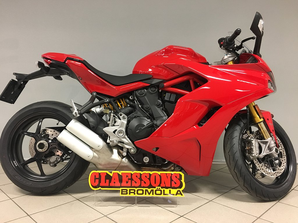Ducati SuperSport 939 S röd