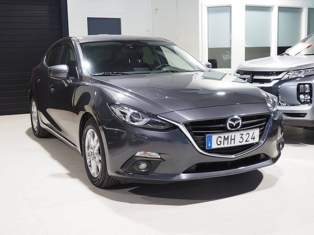 Mazda 3 Vision 2.0 120hk (Navigation,Bluetooth) 2015