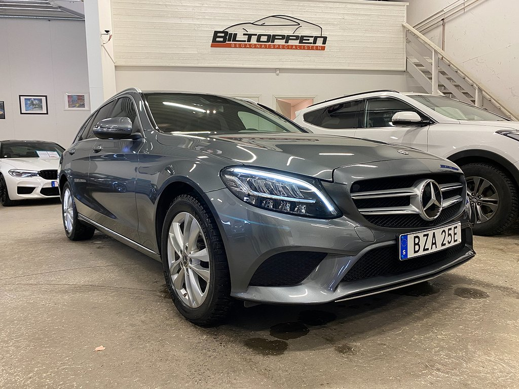 Mercedes-Benz C 200 T 4MATIC 184hk Nyservad Facelift
