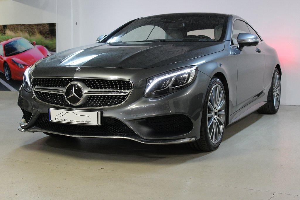 Mercedes-Benz S 400 4MATIC Coupé AMG Sv-såld