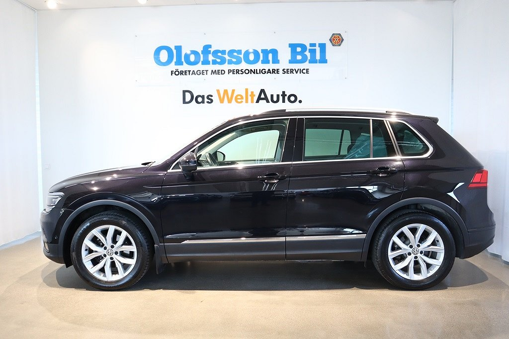 Volkswagen Tiguan 1.4 TSI 150HK/AUT/EXECUTIVE/DRAG/WEBASTO
