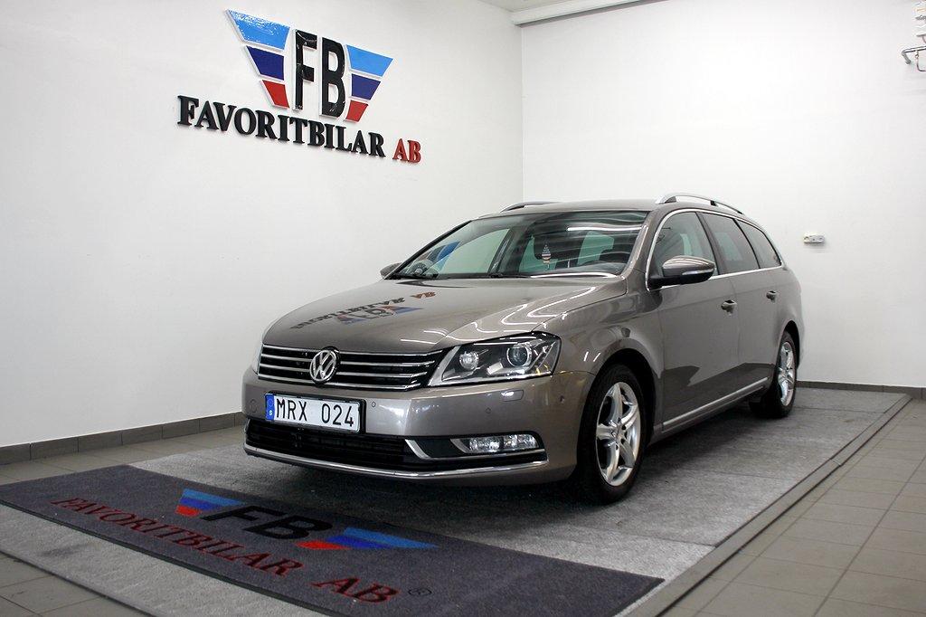 Volkswagen Passat 2.0 TDI BM GPS 4Motion DSG Sekventiell Premium, Sport, Comfort 1