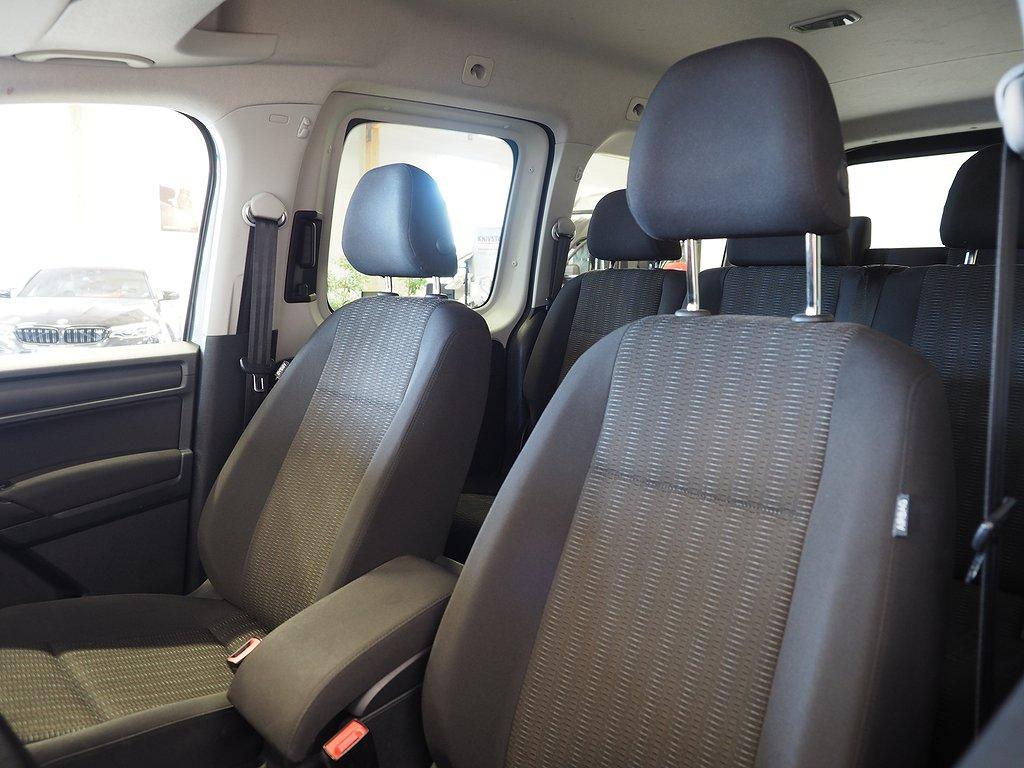 Volkswagen Caddy Maxi Life 2.0 TDI 4Motion 7-sits 150hk 2018