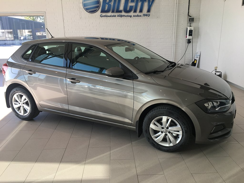 Volkswagen Polo 1.0 TSI BlueMotion Euro 6 95hk
