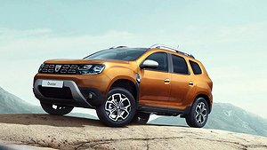 Dacia Duster ömsar skinn