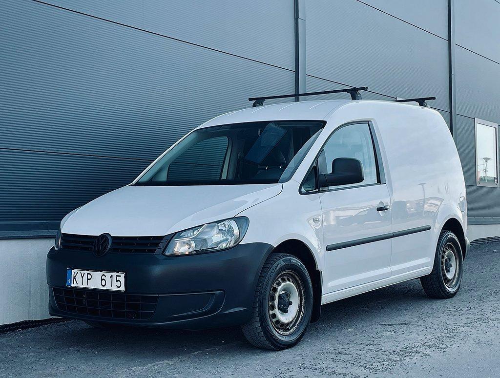 Volkswagen Caddy Skåpbil 2.0 EcoFuel 109hk Lågmil/M-värmare