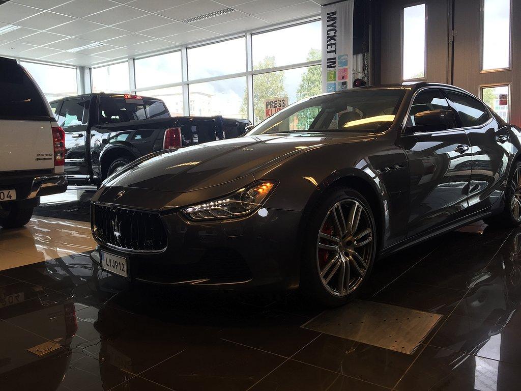 Maserati Ghibli SQ4 410hk SVENSKSÅLD
