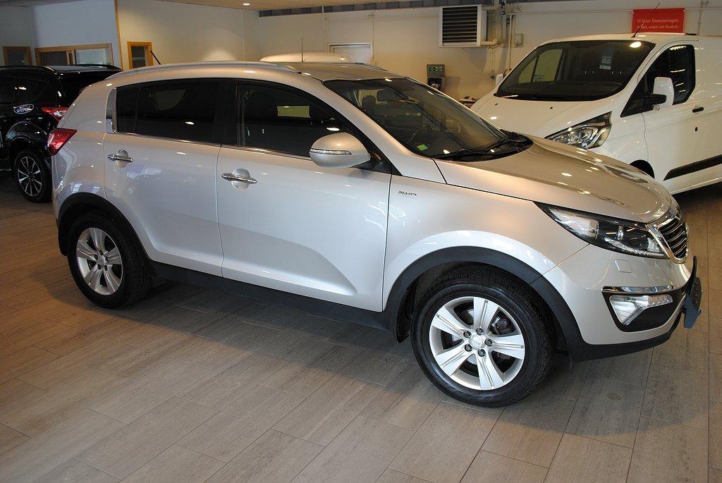 Kia Sportage *1.95%ränta/5.000kr i bränsle*2.0 CRDi AWD Aut 136hk