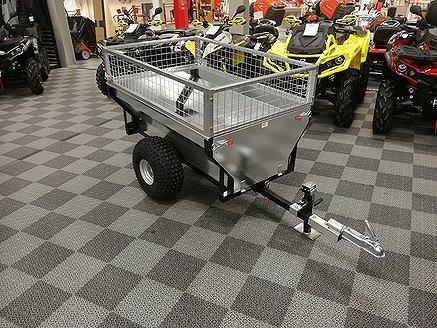Övrigt Gårdsvagn ATV med gallergrindar