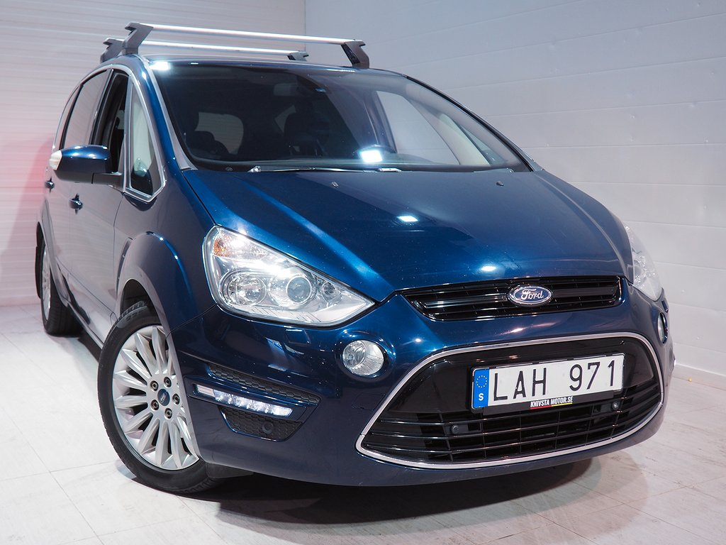 Ford S-Max 2.0 TDCi 7-sits 163hk Dragkrok Panorama 2011