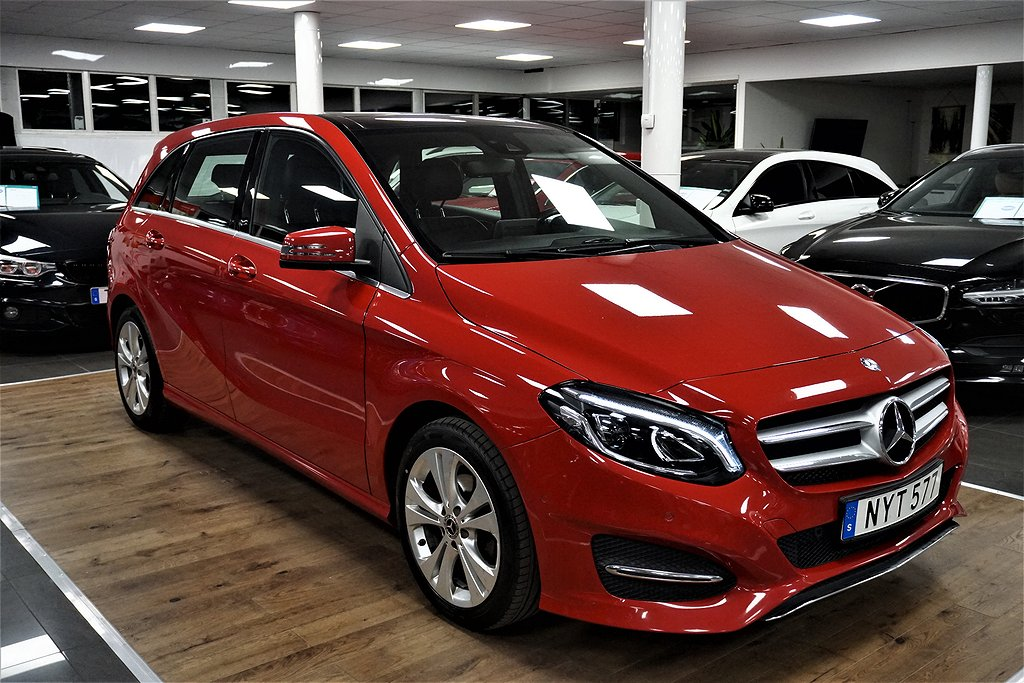 Mercedes-Benz B 200 CDI 7G-DCT Euro 6 136hk