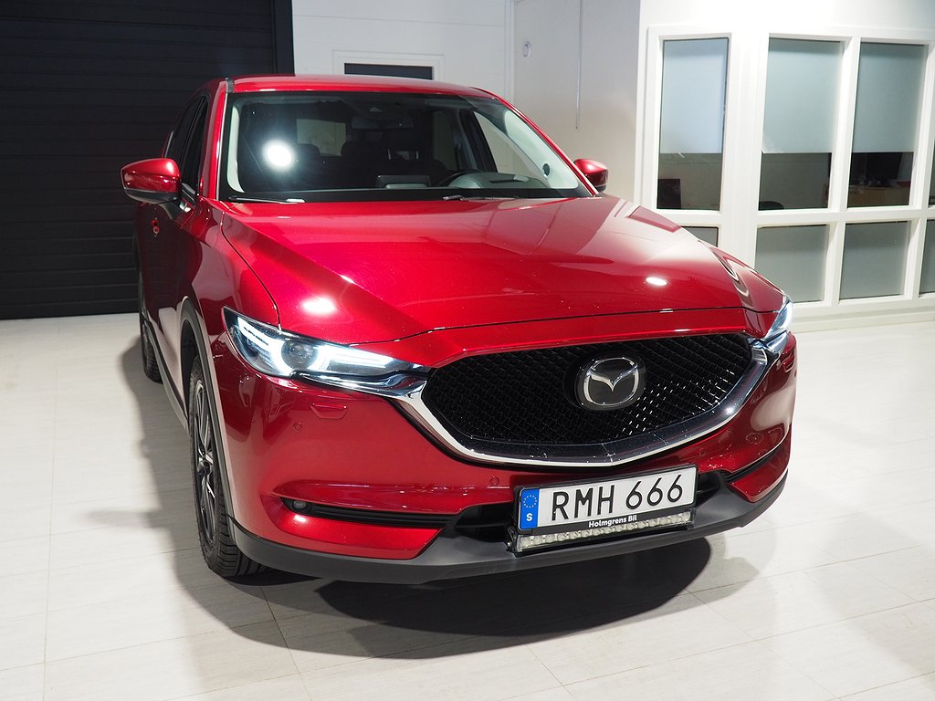 Mazda CX-5 Optimum 2,2DE Aut AWD (Dragkrok) 2017